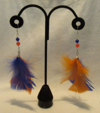 Denver Broncos Earrings